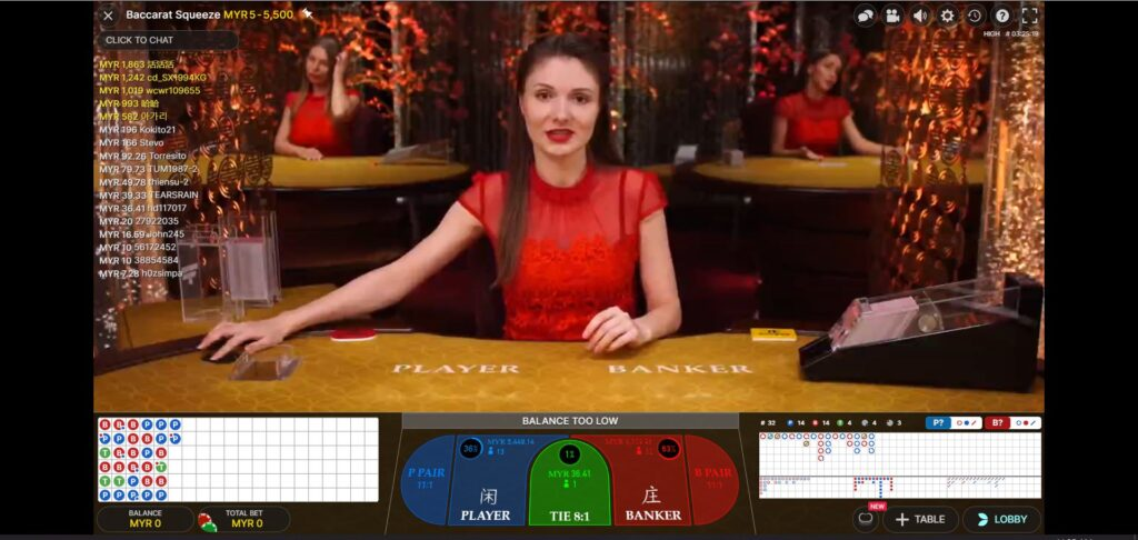 Asiabet33 Evolution Gaming Game Preview 2