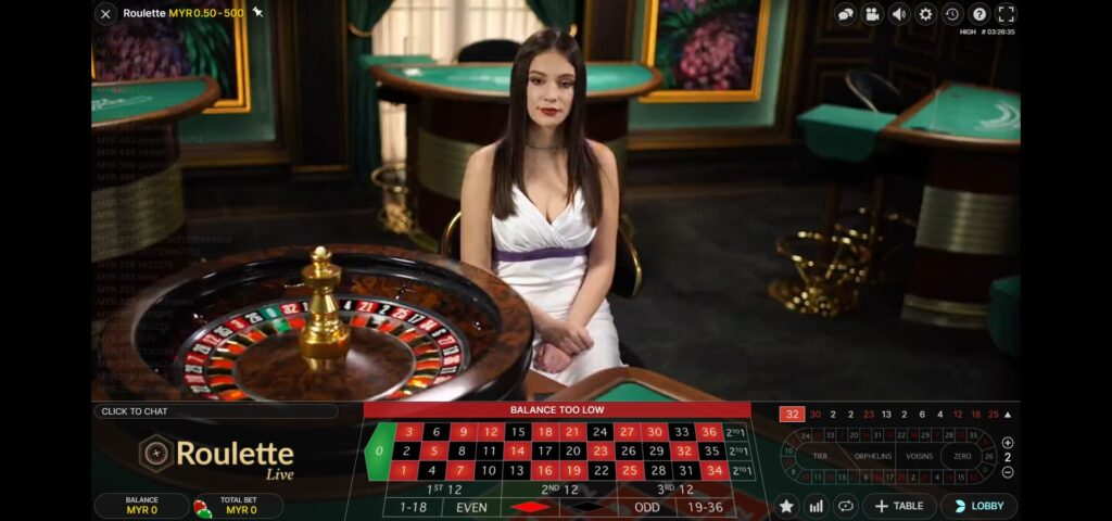 Asiabet33 Evolution Gaming Game Preview 4