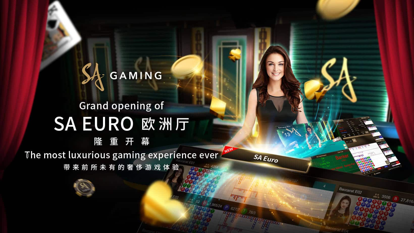 SA Gaming New Euro Hall