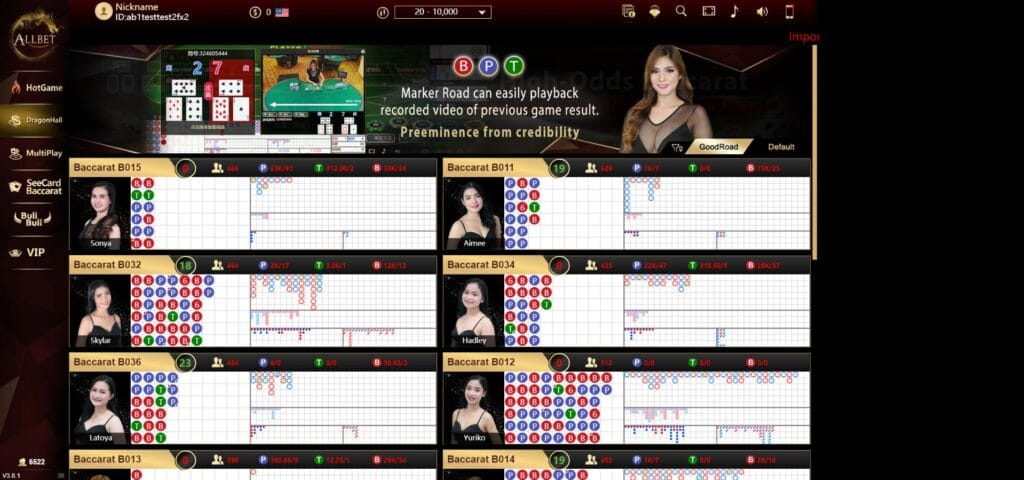 Asiabet33 Allbet Gaming Game Preview 1