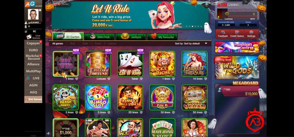 Asia gaming slot games