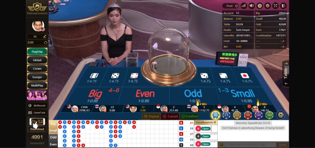 Asiabet33 Dream Gaming Game Preview 4