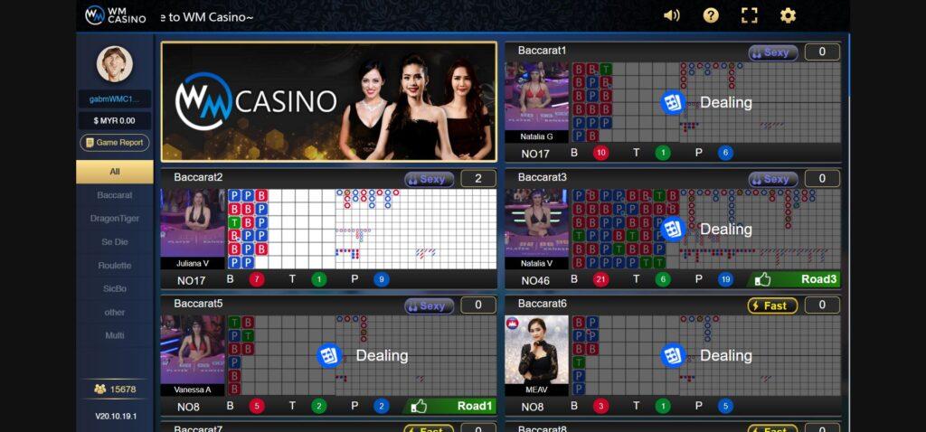 Asiabet33 WM Casino Game Preview 1