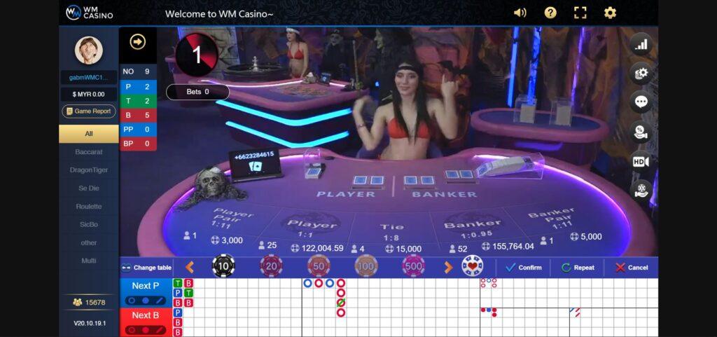 Asiabet33 WM Casino Game Preview 2